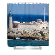 Blues Of Cuba Shower Curtain