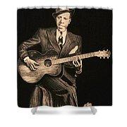 Blues Originator  Shower Curtain
