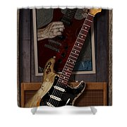 Blues Tools 2 Shower Curtain