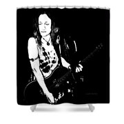Blues Woman Shower Curtain