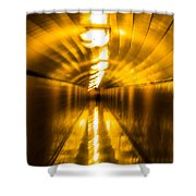 Blur Tunnel Shower Curtain