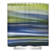 Blurscape Shower Curtain