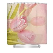 Blushing Beauties Shower Curtain