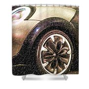 Bmw 25 Shower Curtain