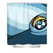 Bmw 40 Shower Curtain