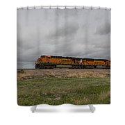 Bnsf Train 5833 B Shower Curtain