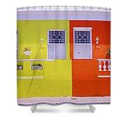 Bo Kaap House Shower Curtain