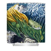 Boann Transformation Of A Goddess Shower Curtain