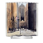 Board Of Trade Shower Curtain