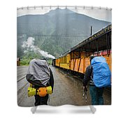 Boarding The Durango Silverton Narrow Shower Curtain