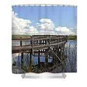 Boardwalk Reflections Shower Curtain