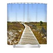 Boardwalk Shower Curtain