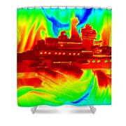 Boat Builder 2 Shower Curtain