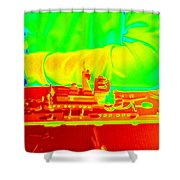 Boat Builder Shower Curtain