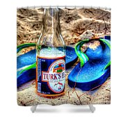 Boat Drinks Shower Curtain