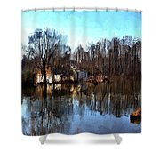 Boat House 2 Shower Curtain