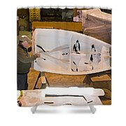 Boat Shed 6 Shower Curtain