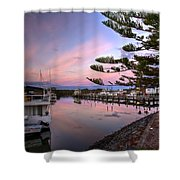 Boat Show Shower Curtain