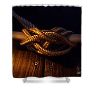 Boat Tie Shower Curtain