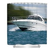 Boating 01 Shower Curtain