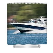 Boating 02 Shower Curtain