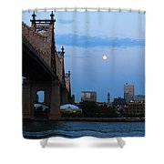 Boating Stream Shower Curtain