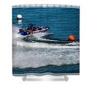 Boatnik Races 1 Shower Curtain