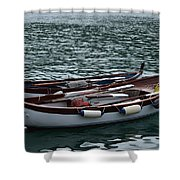 Boats At Rest Shower Curtain