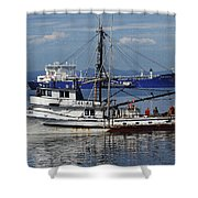 Boats Of The North West Shower Curtain