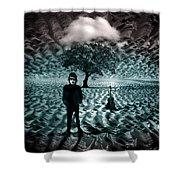 Bob Dylan A Hard Rain's A-gonna Fall Shower Curtain
