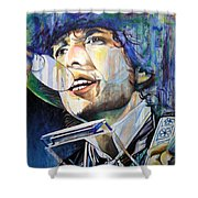 Bob Dylan Tangled Up In Blue Shower Curtain