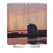 Bob Kerry Pedestrian Bridge Shower Curtain