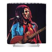 Bob Marley 2 Shower Curtain