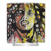 Bob Marley 01 Shower Curtain