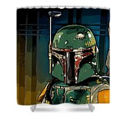Boba Fett 2 Shower Curtain