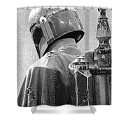 Boba Fett Costume 3 Shower Curtain