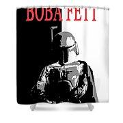 Boba Fett- Gangster Shower Curtain