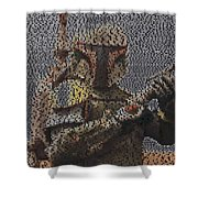 Boba Fett Quotes Mosaic Shower Curtain