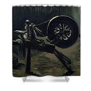 Bobbin Winder Shower Curtain