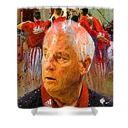 Bobby Knight Indiana Legend Shower Curtain