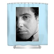 Bobby Portrait Shower Curtain