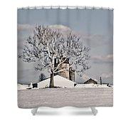 Bobby's Farm Shower Curtain