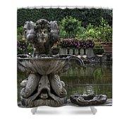 Boboli Fountain Shower Curtain