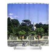 Boboli Gardens Shower Curtain