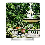 Boboli Gardens Fountain Florence Italy Shower Curtain