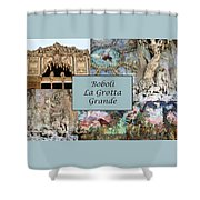 Boboli La Grotta Grande 1 Shower Curtain