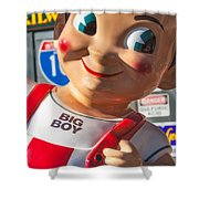 Bob's Big Boy Shower Curtain
