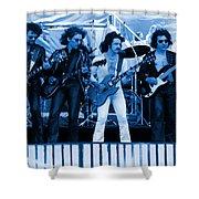 Boc #103 In Blue Shower Curtain