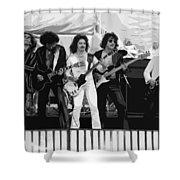 Boc #3 Enhanced Bw Shower Curtain