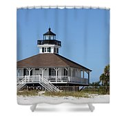 Boca Grande Light Shower Curtain
